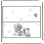 Maisterkowanie - Kartka Boże Narodzenie 9