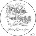 Maisterkowanie - Kartka dla Dziadka