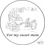 Maisterkowanie - Kartka dla Mamy