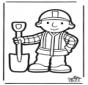 Kartka do Kłucia Budowniczy Bob 2