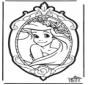 Kartka do Kłucia Księżniczka z Disneja 1
