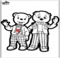 Kartka do Kłucia - niedźwiedź brunatny