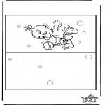 Tematy - Kartka-Narodziny 4