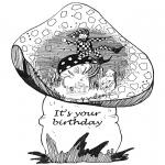 Maisterkowanie - Kartka urodzinowa 1