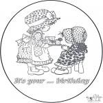 Maisterkowanie - Kartka Urodzinowa 2
