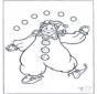 Klaun Żongluje