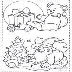 Boze Narodzenie - Kolorowanka - Boże Narodzenie 1