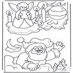 Boze Narodzenie - Kolorowanka Boże Narodzenie 3