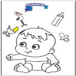 Tematy - Kolorowanka - dziecko 3