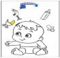 Kolorowanka - dziecko 3