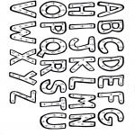 Różne - Kolorowanki alfabet