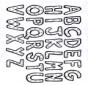 Kolorowanki alfabet