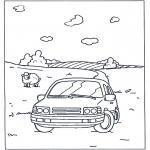 Różne - Kolorowanki Auto