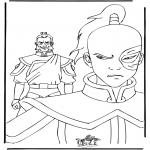 Bohaterowie Z Bajek - Kolorowanki Avatar