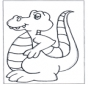 Kolorowanki dinozaur