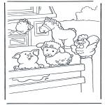 Zwierzęta - Kolorowanki do wydruku