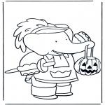 Tematy - Kolorowanki Halloween