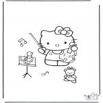 Różne - Kolorowanki Hello Kitty