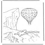 Przedszkolaki - Kolorowanki Lars z balonem