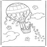 Przedszkolaki - Kolorowanki Troskliwe misie