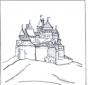 Kolorowanki zamek