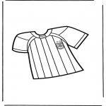 Różne - Koszulka z piłki nożnej