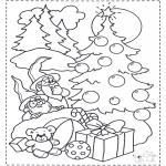 Boze Narodzenie - Krasnoludki i Choinka