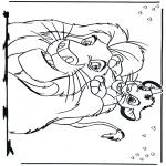 Bohaterowie Z Bajek - Król Lew 2