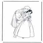 Bohaterowie z Bajek - Królewna śnieżka 12