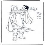 Bohaterowie z Bajek - Królewna śnieżka 9