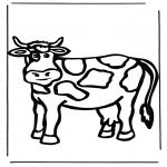 Zwierzęta - Krowa 1