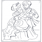 Bohaterowie z Bajek - Książę i Kopciuszek