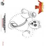 Bohaterowie Z Bajek - Kung Fu Panda 2 - Połącz punkty 1