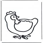 Zwierzęta - kura 1