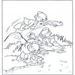 Bohaterowie Z Bajek - Kuzynowie jako Żabki