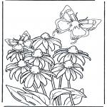 Różne - Kwiat i motyle