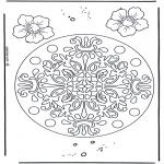 Mandala's - Kwiatowa Geomandala