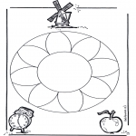 Mandala's - Kwiatowa Mandala 1