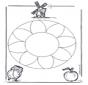 Kwiatowa Mandala 1