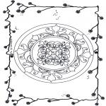 Mandala's - Kwiatowa Mandala 5