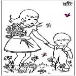 Różne - Kwiaty życzenia przyjścia do zdrowia 2