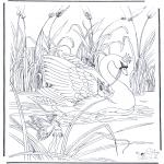 Zwierzęta - Łabądź