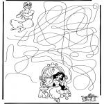 Maisterkowanie - Labirynt Alladyn