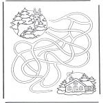 Zima - Labirynt Jeleń