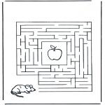 Maisterkowanie - Labirynt myszka