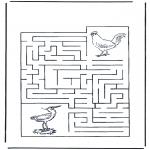 Maisterkowanie - Labirynt ptaki