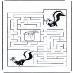 Maisterkowanie - Labirynt skunks