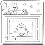 Boze Narodzenie - Labirynt Świąteczny 3