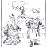 Maisterkowanie - Lalki - Ubieranki 2
