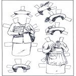 Maisterkowanie - Lalki - Ubieranki 5